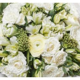Bouquet Place O Fleurs Blanc - Place O Fleurs