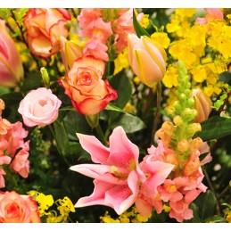 Bouquet Place O Fleurs Orange - Place O Fleurs