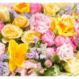 Bouquet Place O Fleurs coloré - Place O Fleurs