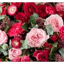 Bouquet Place O Fleurs rose & rouge - Place O Fleurs