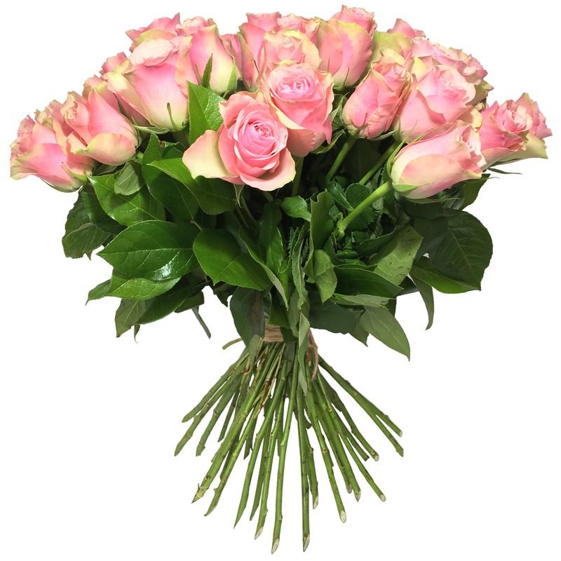 Bouquet de Roses rose - Place O Fleurs